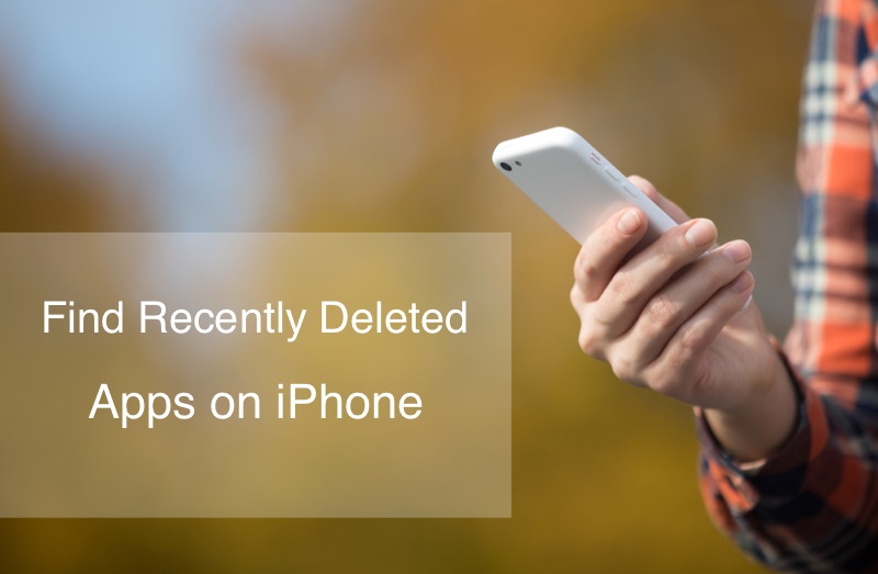 How To Find My Recently Deleted App on iPhone