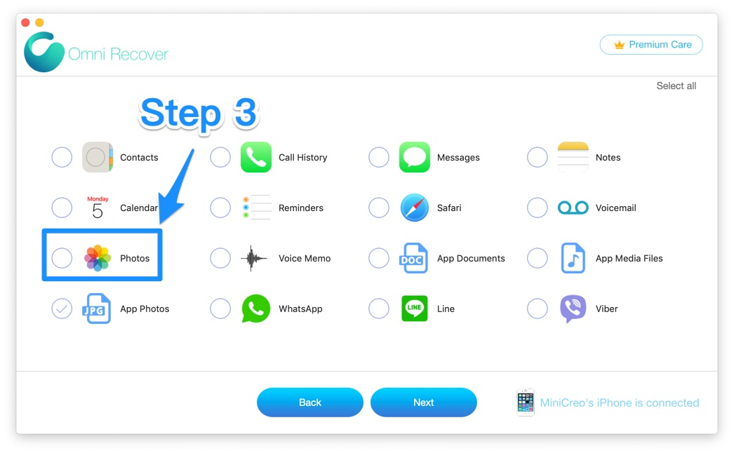How To Recover Permanently Deleted Photos from iCloud Step 3