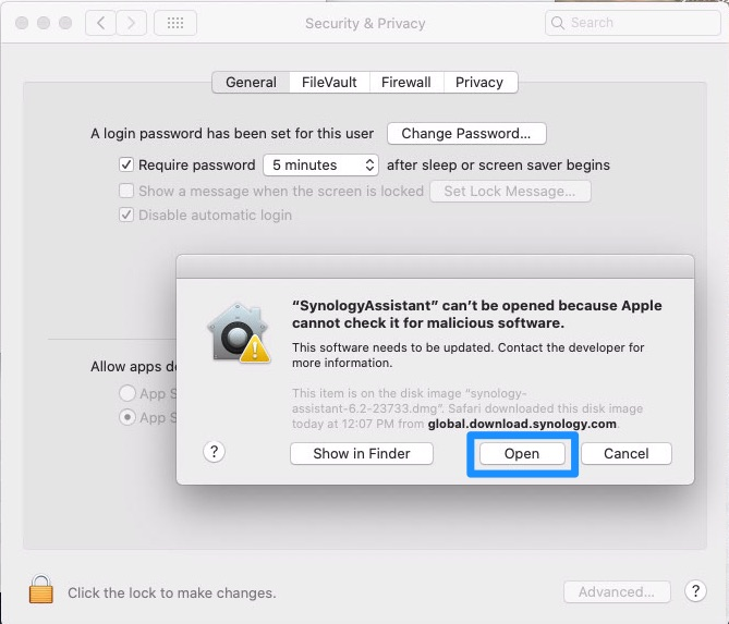 How To Fix App Can't Be Opened on macOS Catalina Step 3