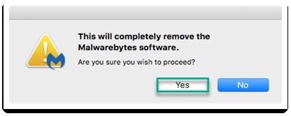 malwarebytes for mac uninstall
