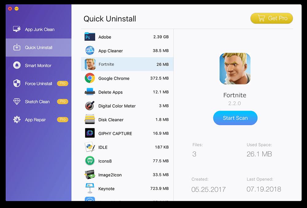 how to uninstall fortnite on mac step 2 - fortnite on apple macbook pro
