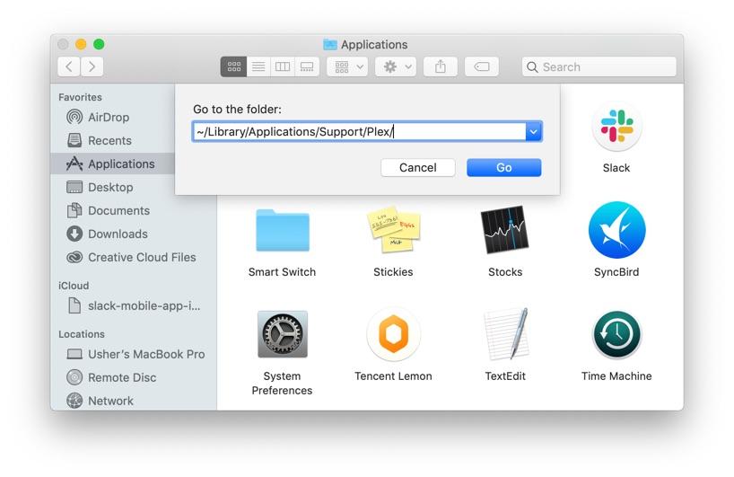 Plex Folder