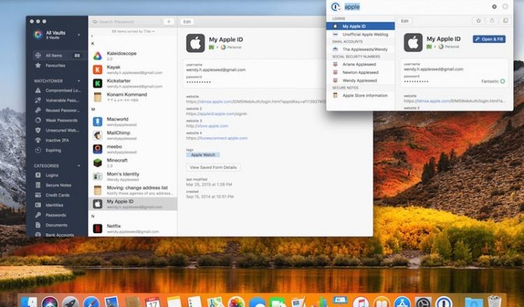 1Password 7 for Mac's Redesign Is Showing Off Today