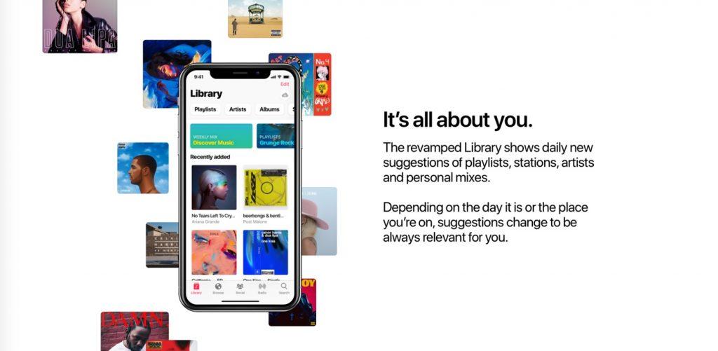 Apple Music Concept Design