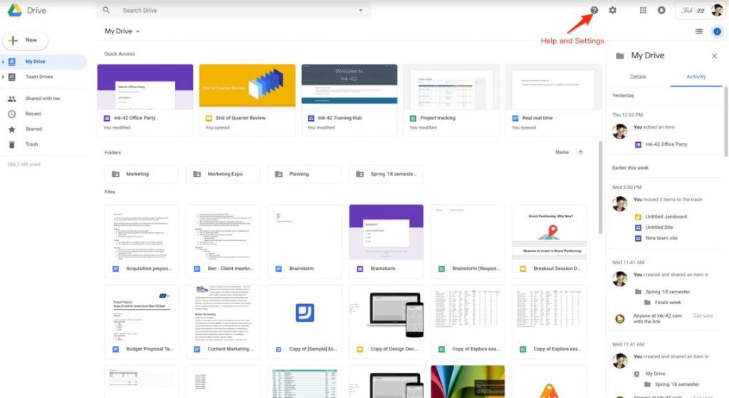 Google Drive Gets New Interface To Match Redesigned Gmail 2