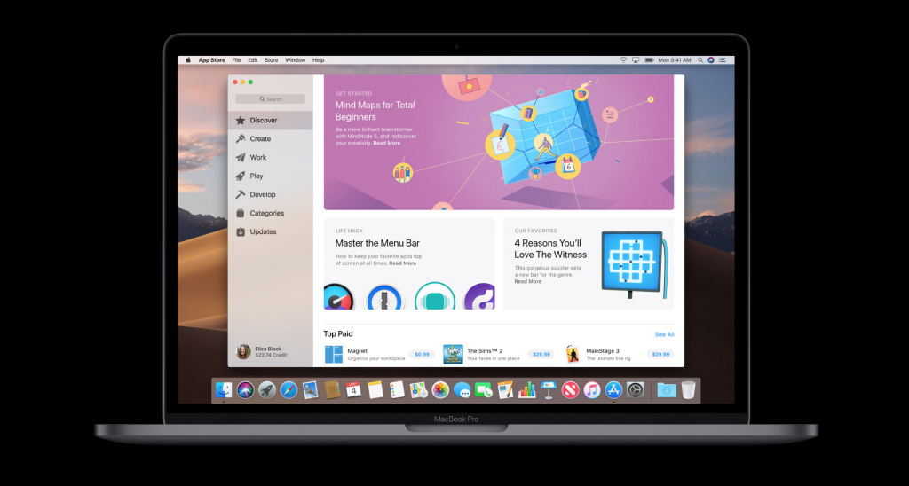 What's New macOS Mojave