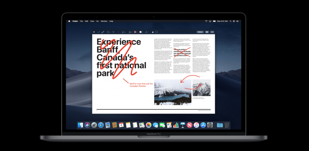 macos-mojave-quick-What's New macOS Mojave - Quick Look