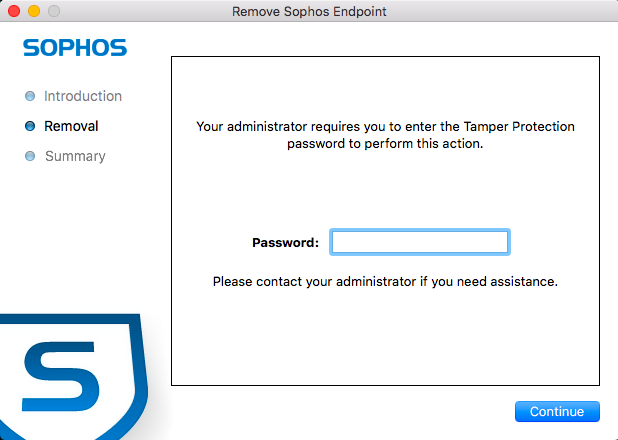 How To Uninstall Sophos Anti-Virus Mac Step 2