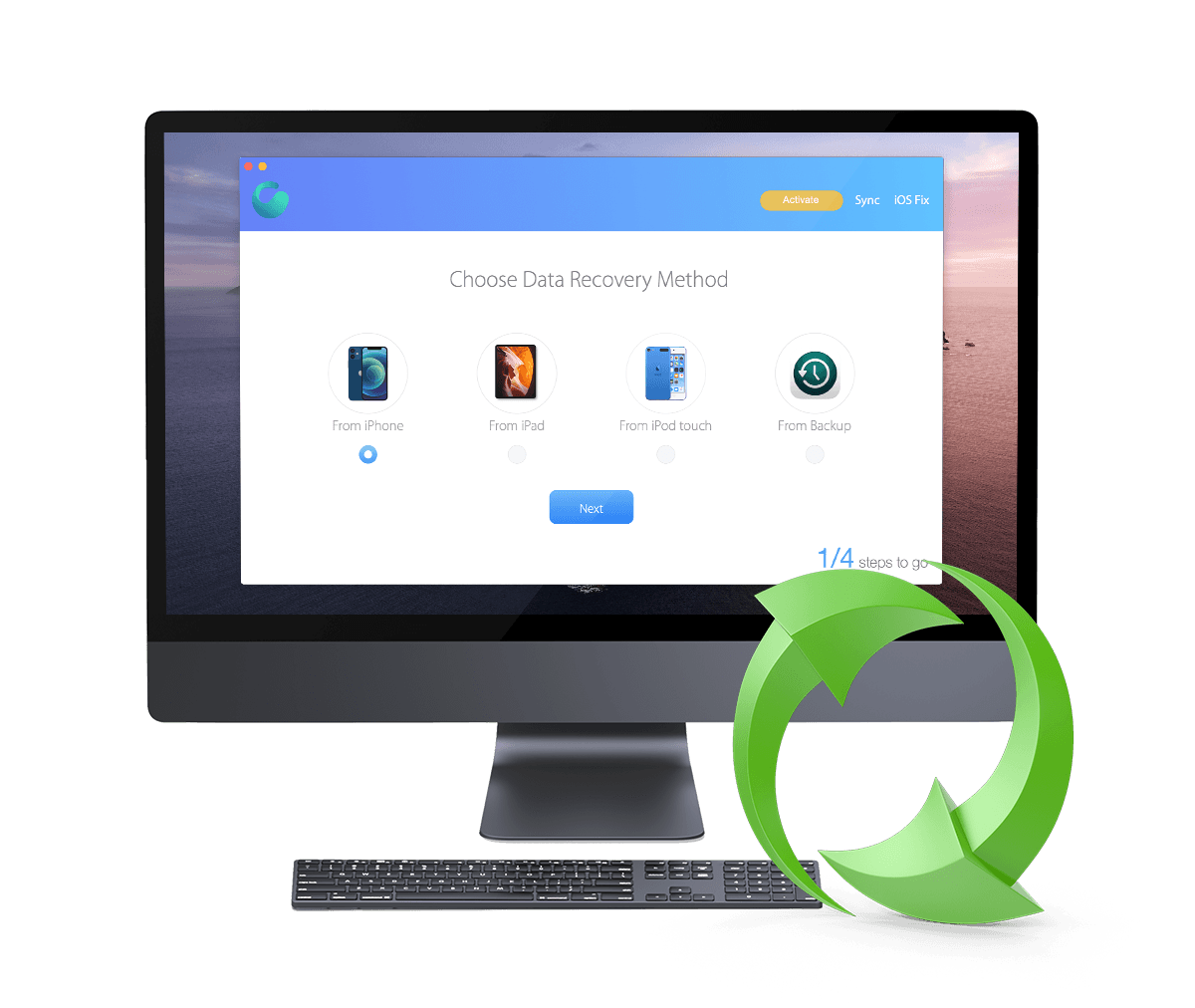Get Omni Recover - Best iPhone Data Recovery Software